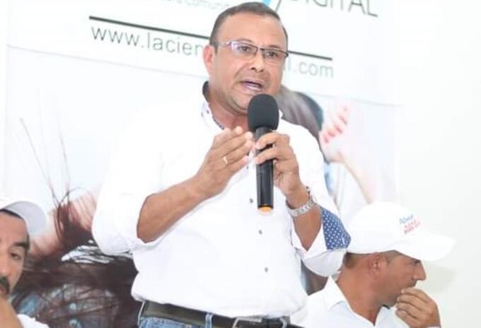 Wilson Jesús Castillo, alcalde de Palestina (Huila)