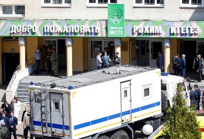 Tiroteo en escuela de Rusia