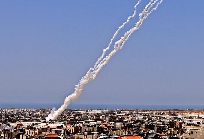 Cohetes Israel