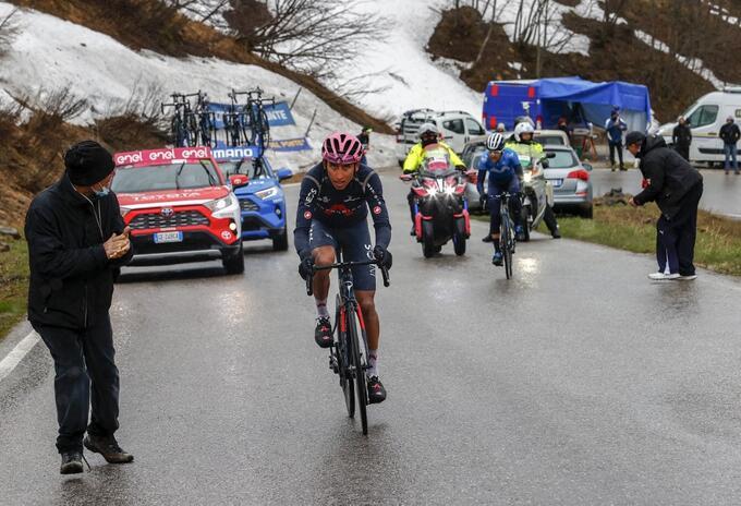 Egan Bernal - Giro de Italia