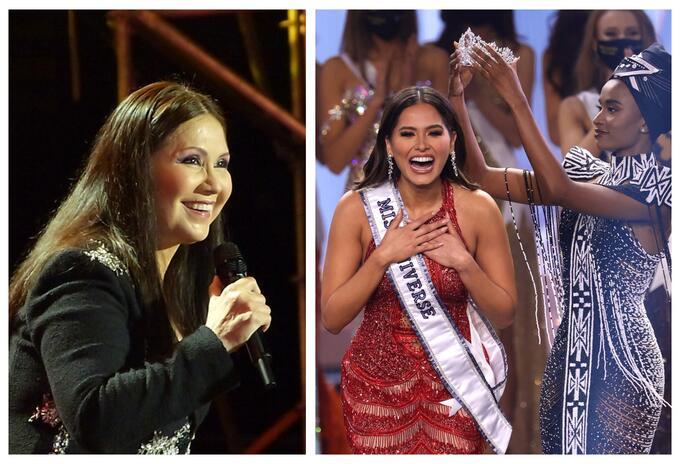 Ana Gabriel y Andrea Meza, Miss Universo son relacionadas como madre e hija