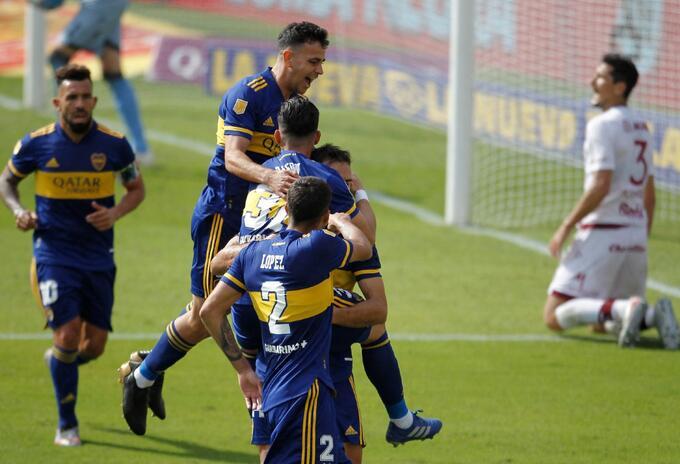 Boca Juniors le ganó a Lanús