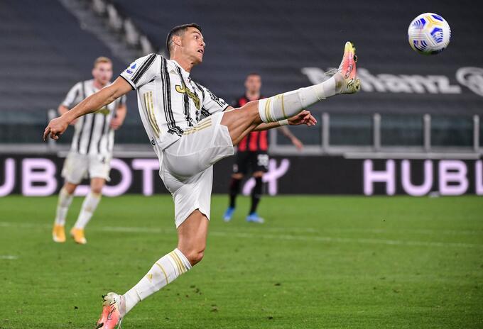 Cristiano Ronaldo con Juventus