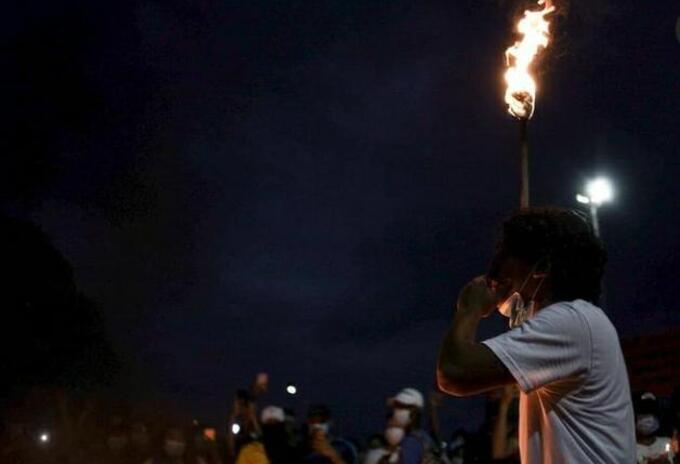 Manifestación en Cartagena