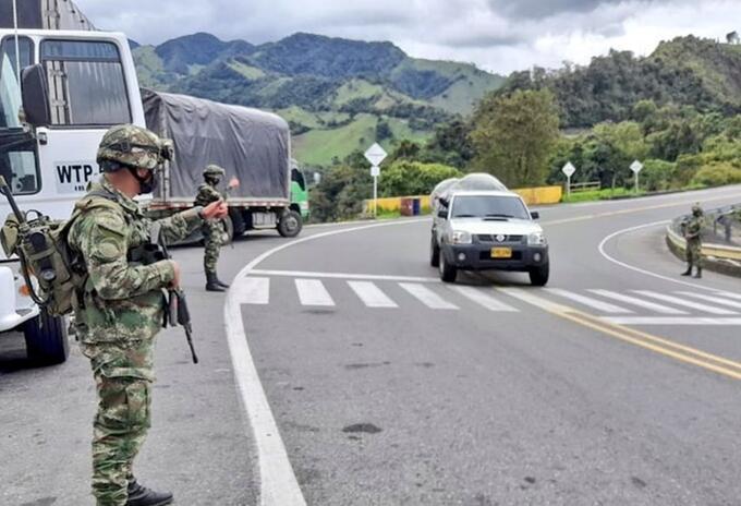 """""""Llevamos prestando un mes de Asistencia Militar en el Tolima"""": Cr. Jairo Castillo, cdte Sexta Brigada"""