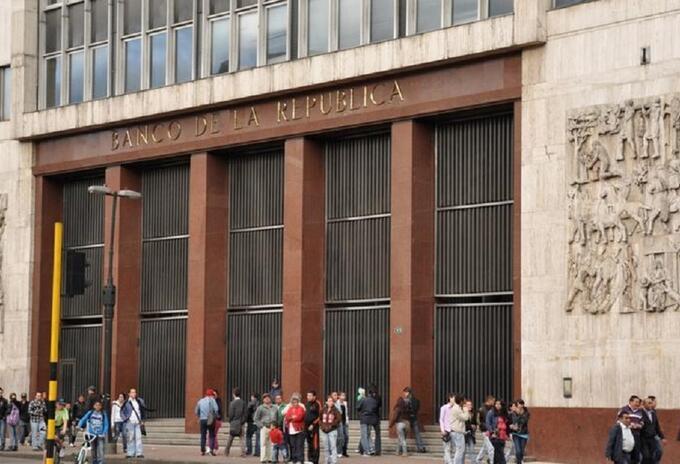 Fachada del Banco de la República