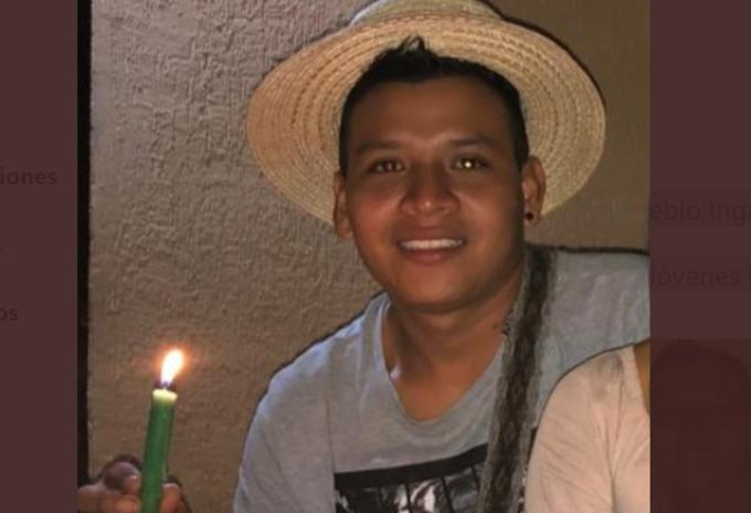 Sebastián Jacanamejoy, indígena del Cric