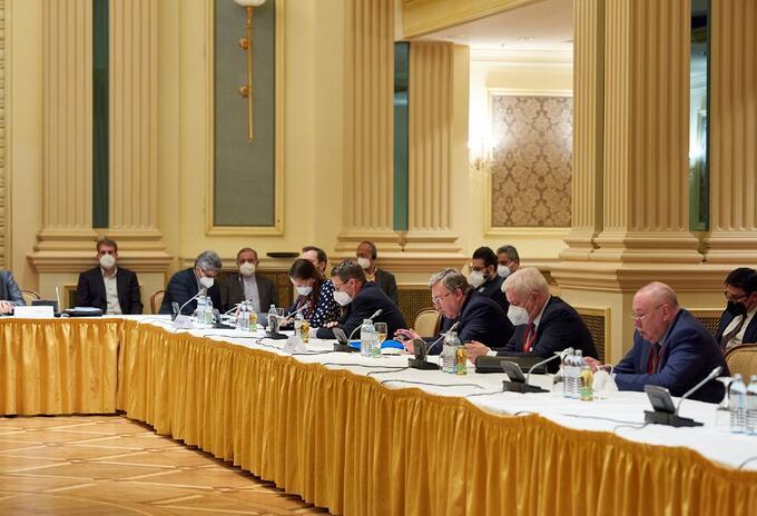 Negociadores del programa nuclear iraní