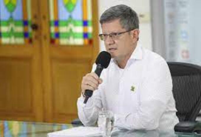 Gobernador (e) de Antioquia, Luis Fernando Suárez.