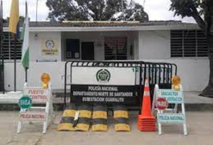Puesto de Policía de Guamalito en El Carmen (N.S)