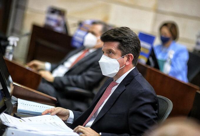 Diego Molano en el Senado