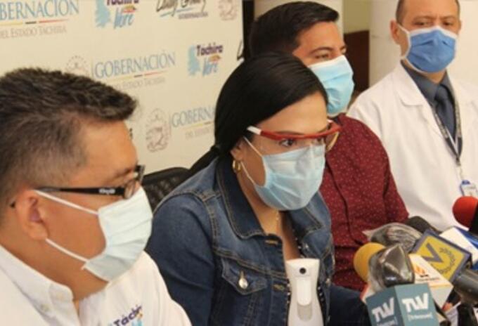 Laidy Gómez Gobernadora Táchira
