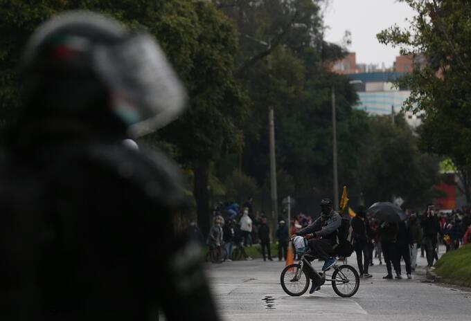 Paro Nacional en Colombia en mayo 2021