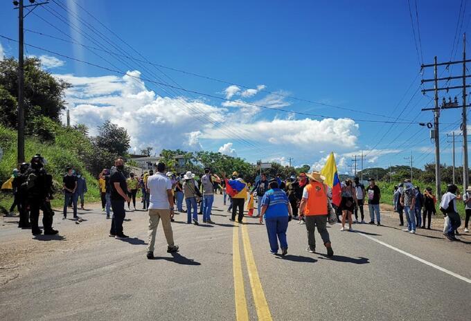 Protestas Neiva