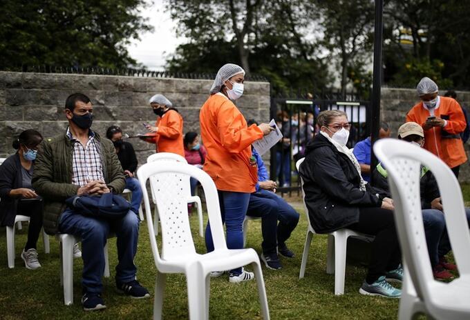 Vacunación covid en Bogotá sin cita previa