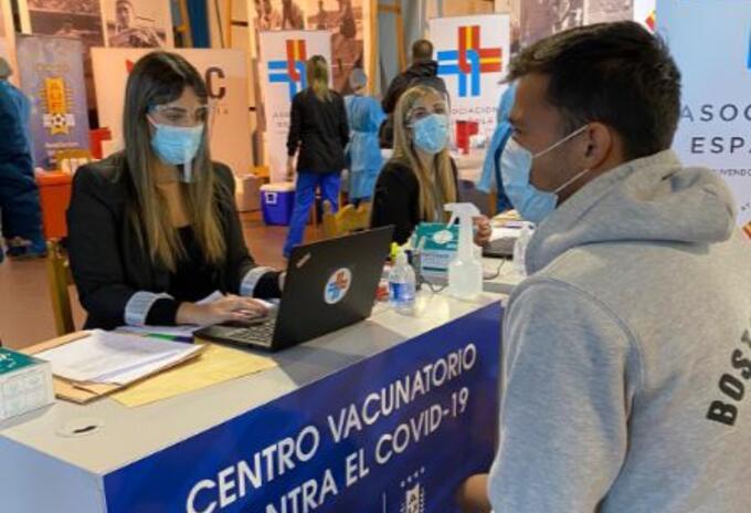 Vacunación en la Conmebol