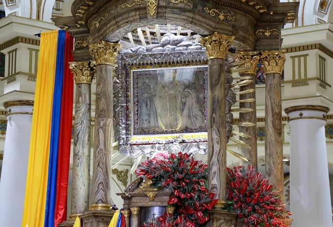 Chiquinquirá, Basílica, Rosario, Boyacá, Virgen