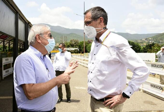 Visita internacional a Cúcuta