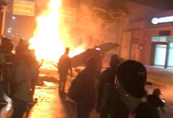 Disturbios en Pereira