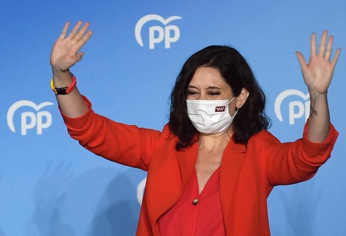 Isabel Díaz Ayuso es reelegida como presidenta de la región de Madrid