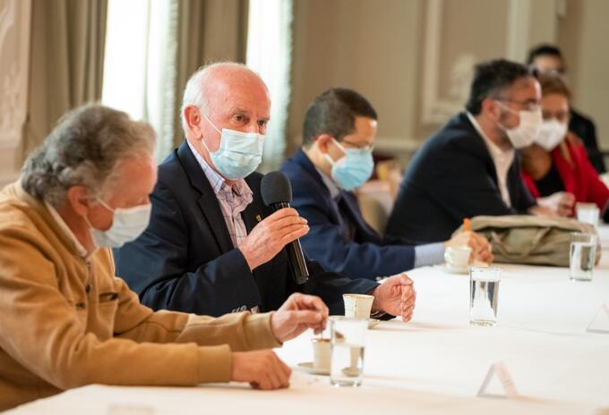 Sector salud se reunión con el Gobierno Nacional en la Casa de Nariño