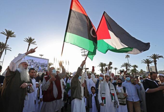 Enfrentamientos Israel y Palestina