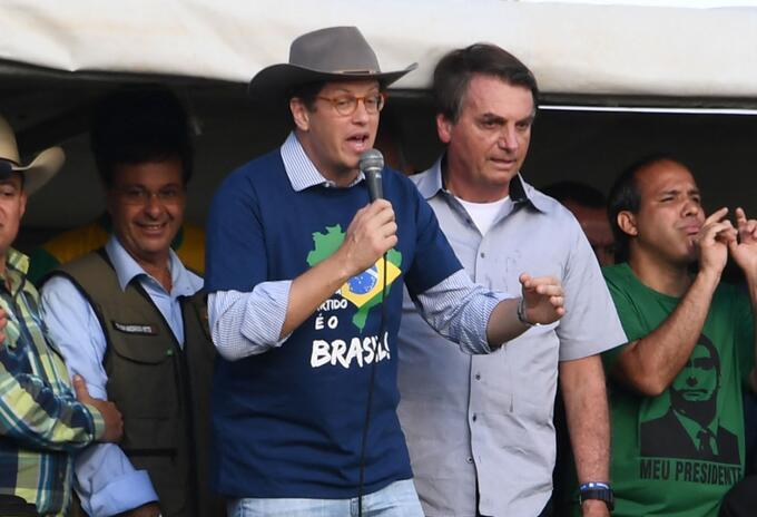 Ricardo Salles, ministro de Ambiente de Brasil