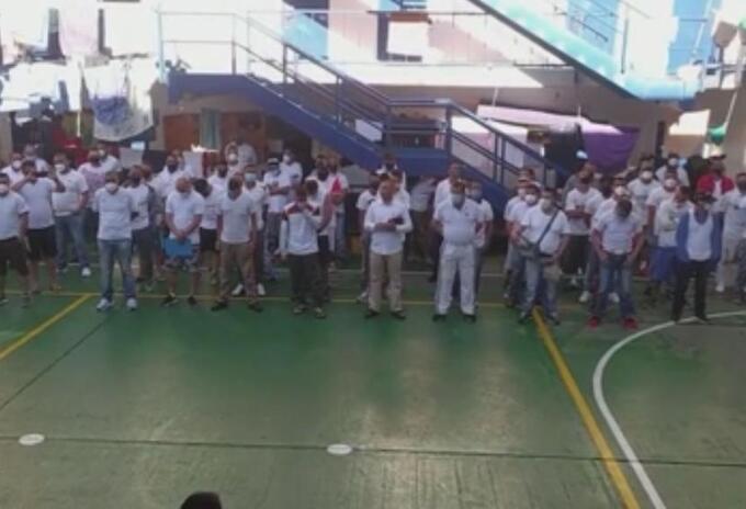 Así avanza la protesta de los internos de El Barne en respaldo al paro nacional