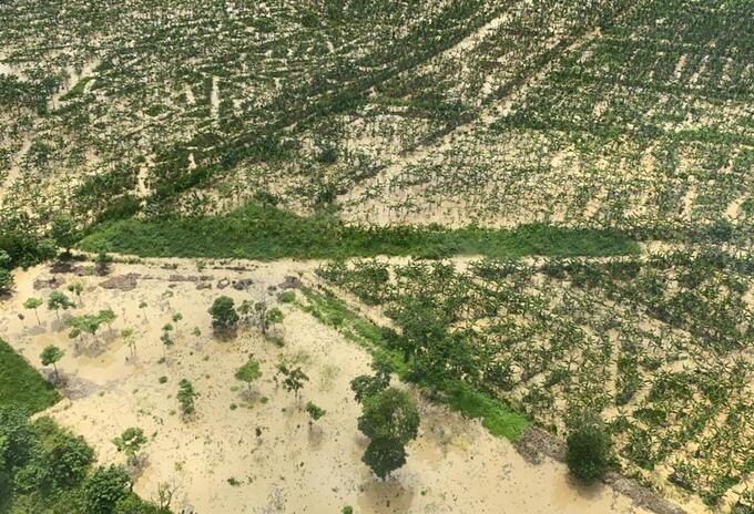 Inundaciones en el Urabá antioqueño.