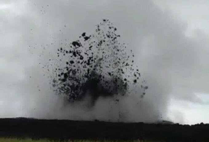 Actividad volcánica en Necoclí, Antioquia.