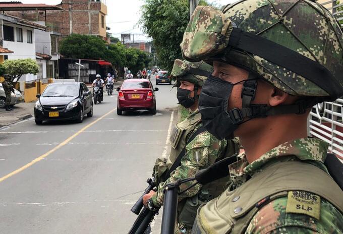 Ejército en cali