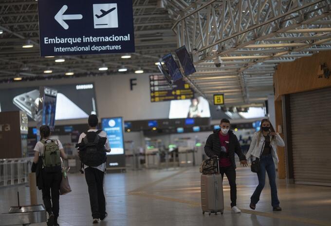 Aeropuerto en Brasil