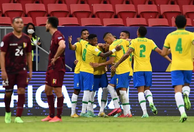 Copa América: Brasil derrota 3-0 a Venezuela