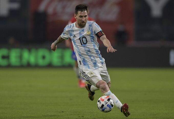 Lionel Messi, Argentina 2021
