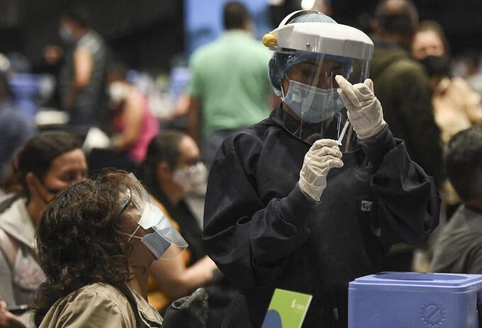 Vacunación contra covid-19, en Bogotá