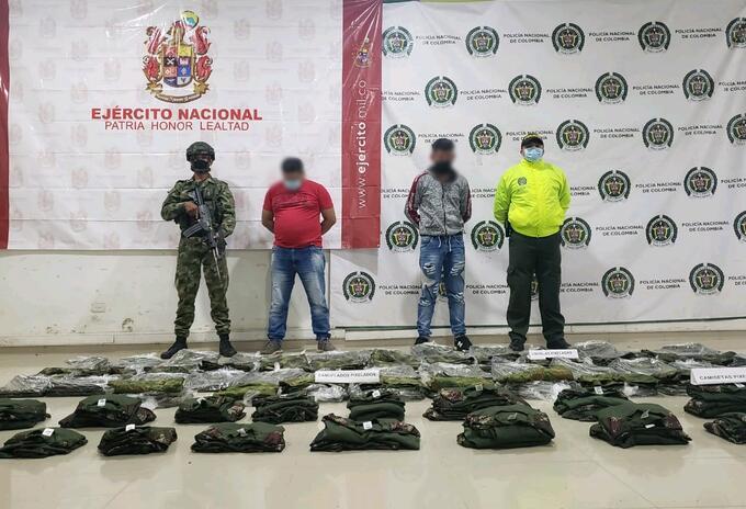El operativo se llevó a cabo en el aeropuerto Los Garzones