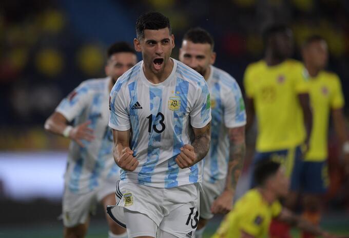 ARGENTINA DERROTA A COLOMBIA