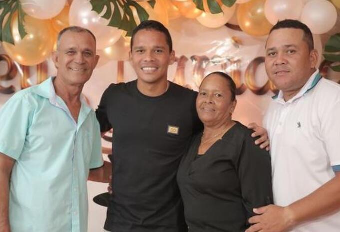 Murió mamá de Carlos Bacca en Barranquilla