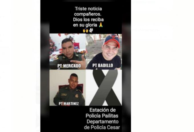Policías asesinados