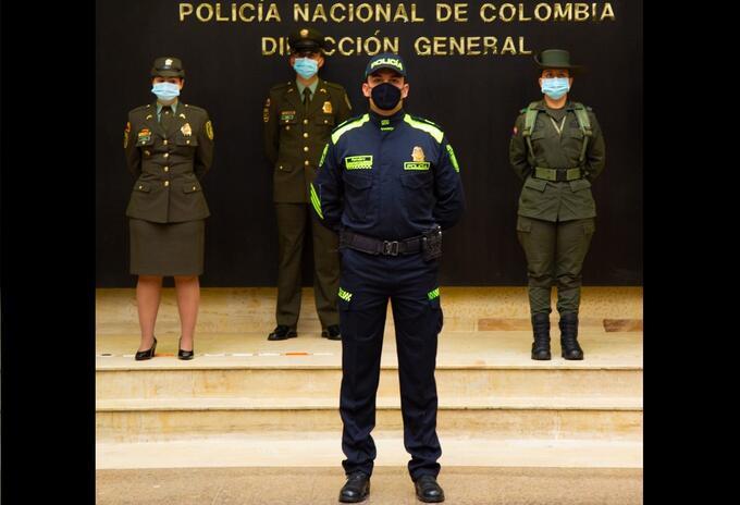 Nuevos uniformes Policía Nacional