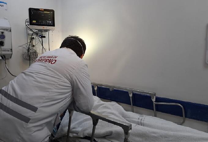 El joven Dilan Suárez perdió su ojo derecho en medio de desmanes