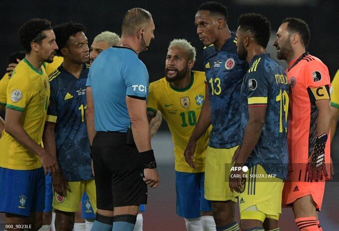 Brasil vs Colombia acción de tutela deberá ser notificada a Pitana