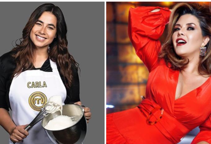 Carla Giraldo y Alicia Machado
