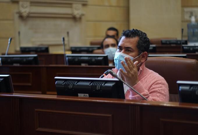 Alejandro Carlos Chacón representante a la Cámara por el partido liberal