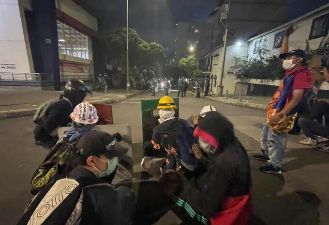 Finalizaron las manifestaciones en disturbios