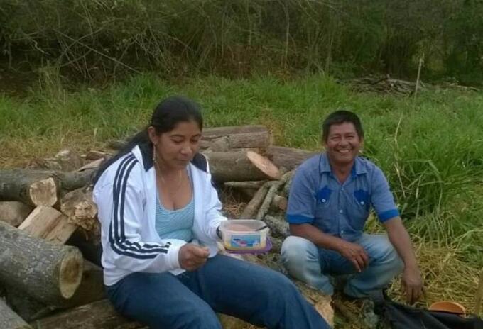 Esposos asesinados Cauca