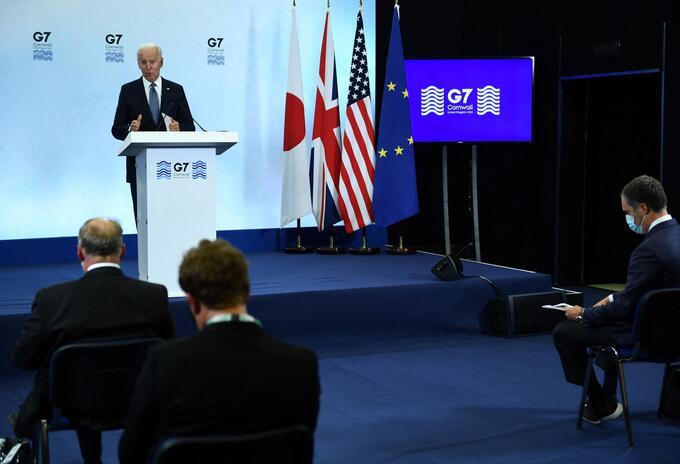 Reunión G7.