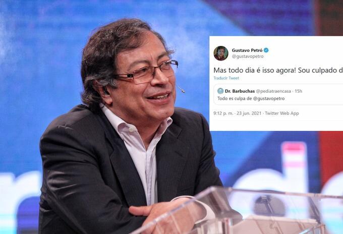 Gustavo Petró, periodista de Brasil, es insultado por colombianos por ser homónimo del político