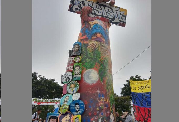 Monumento a la resistencia cali