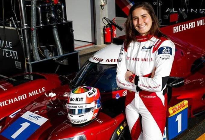 Piloto Tatiana Calderón